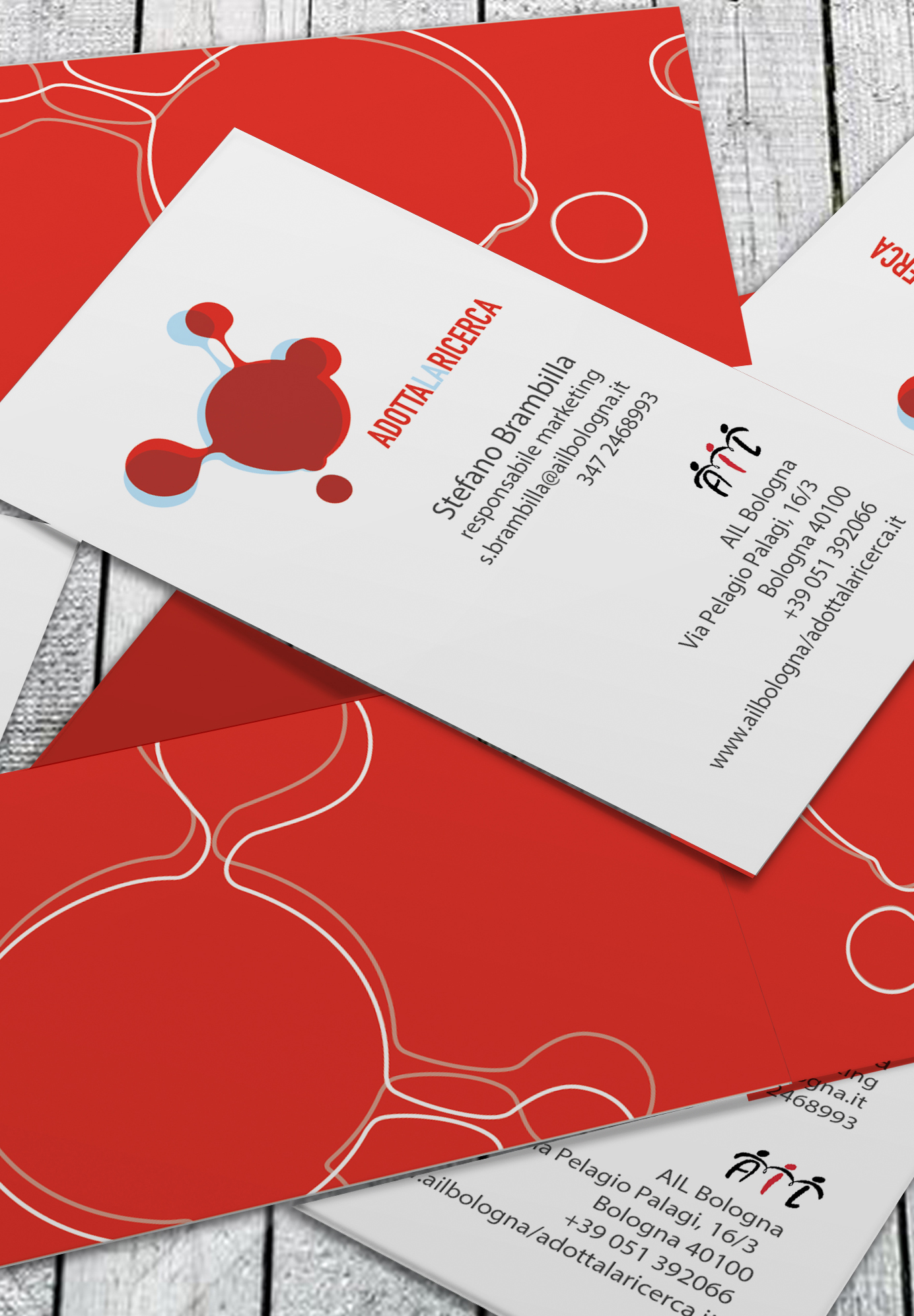 business cards Ail caidrunn