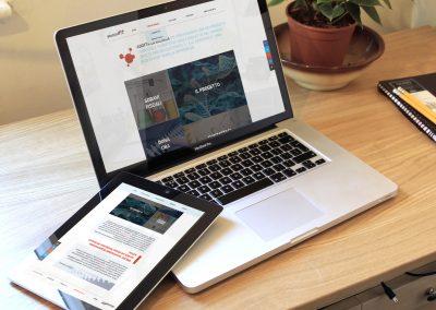 Web Design for Ail association