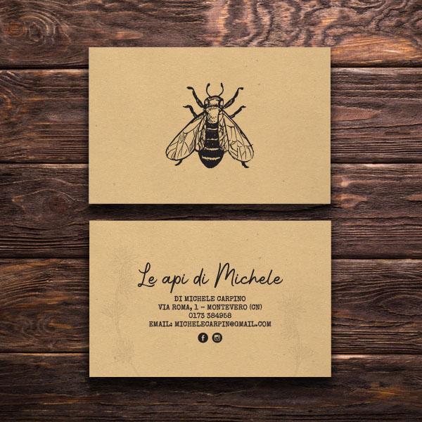 logo design honey and bees