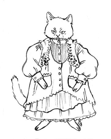 cat character design