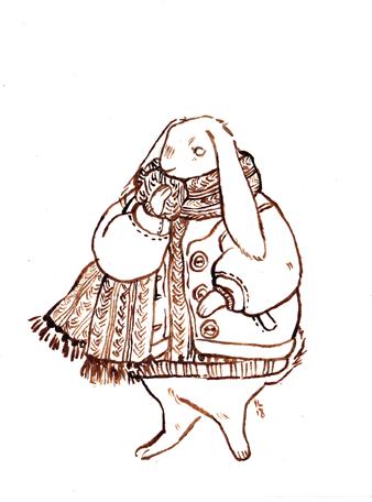 rabbit character design
