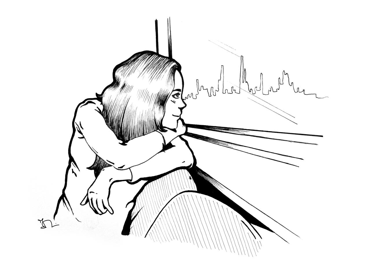 Ilaria mori illustration