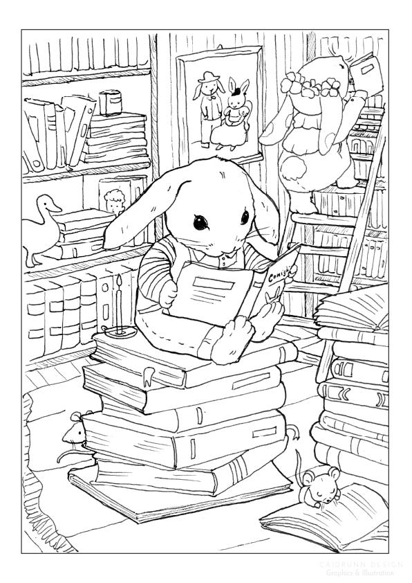 illustration by caidrunn design