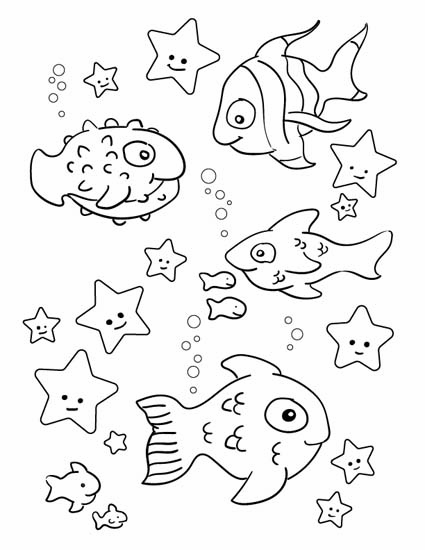fishes and stars