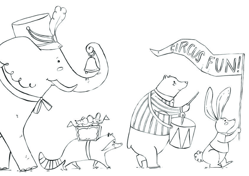 Circus Animals parade