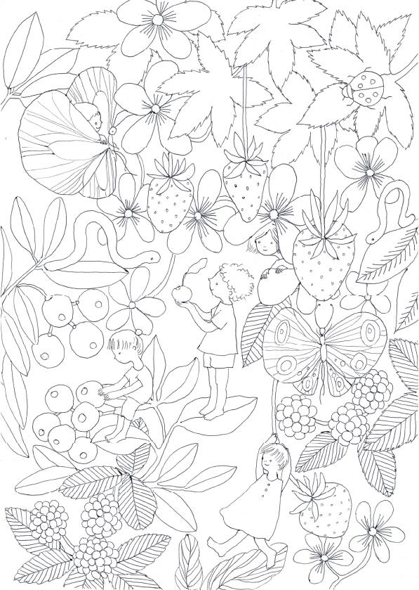 Maki Hasegawa Illustration