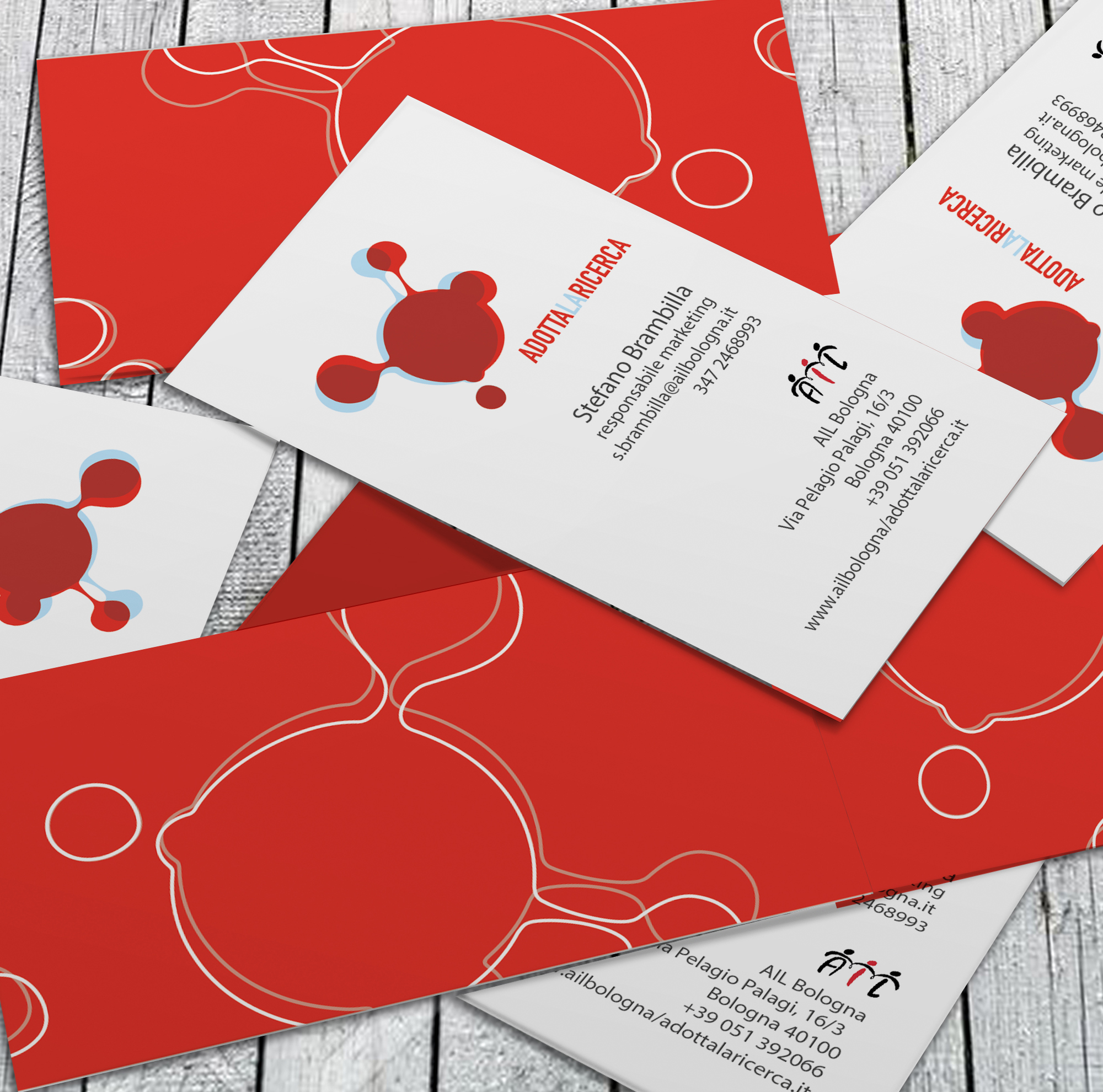 Ail project business cards