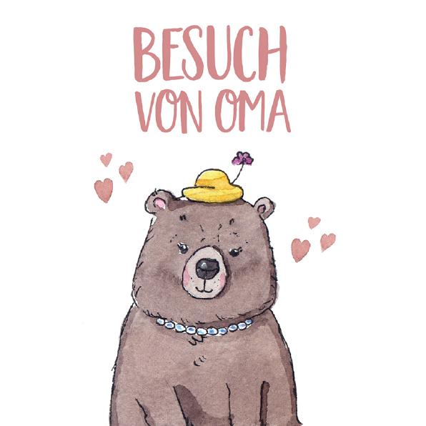 gradma bear drawing