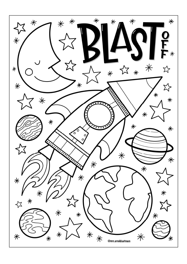outspace drawing
