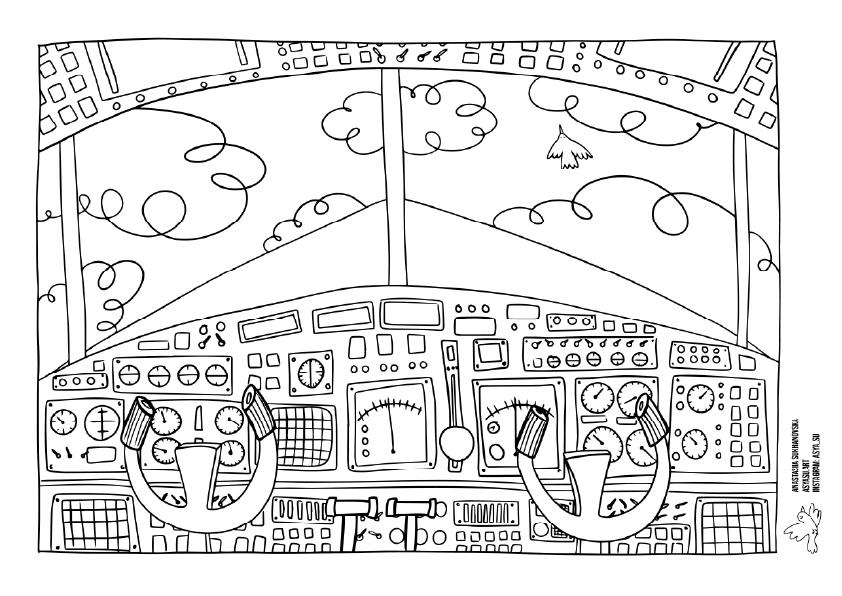 pilot cabin drawing