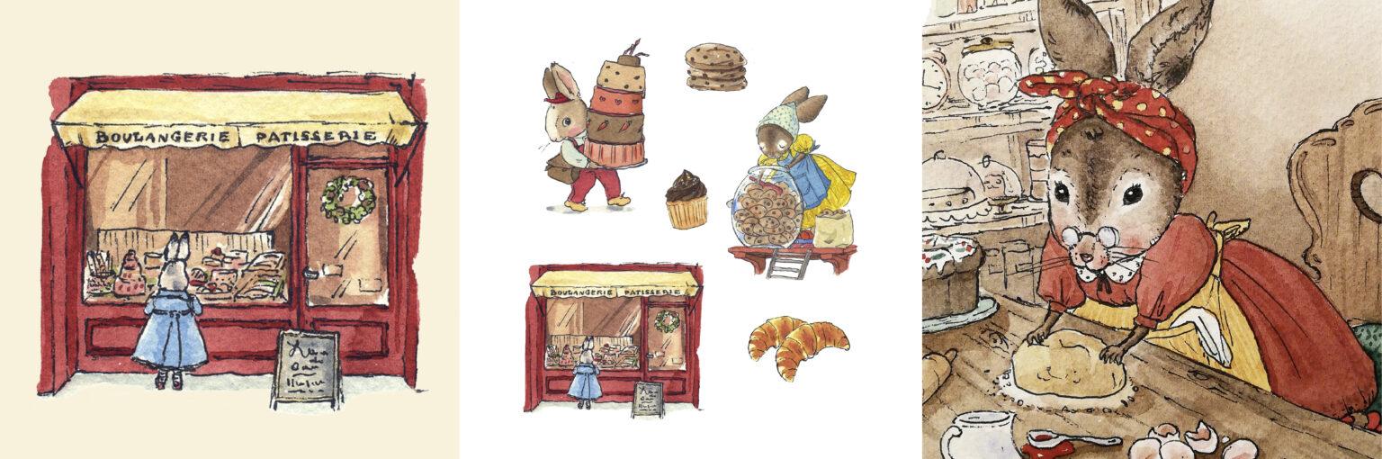 little rabbit drawings