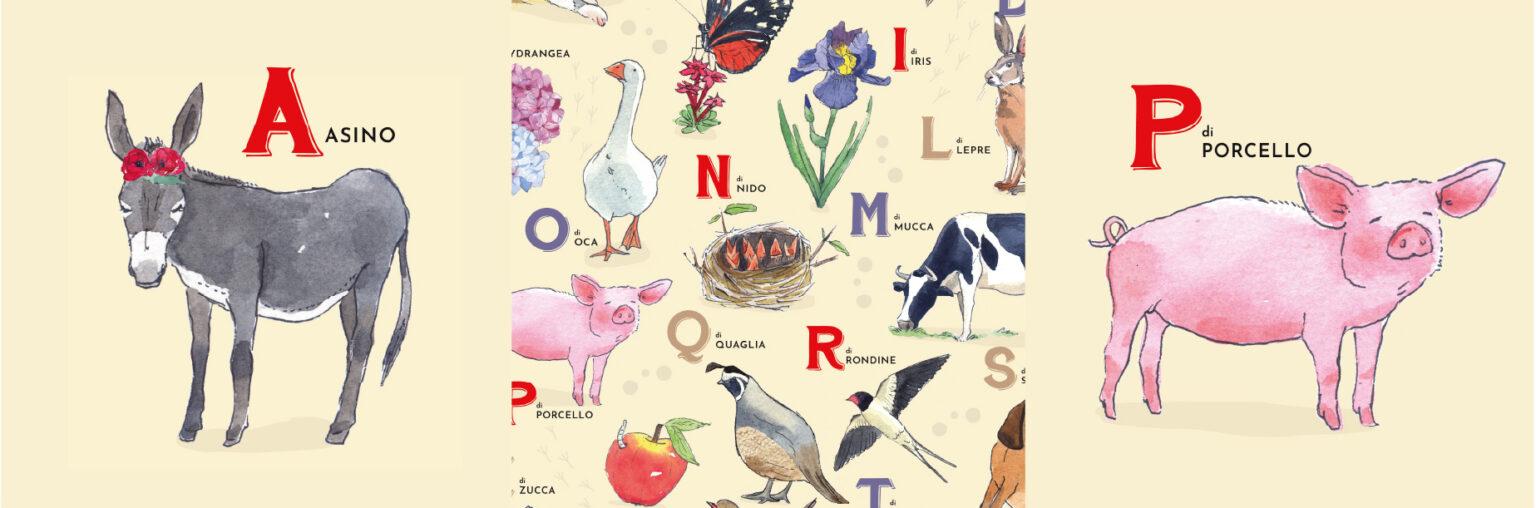 alphabet animals illustrations
