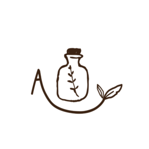 Letter Monogram with drawing