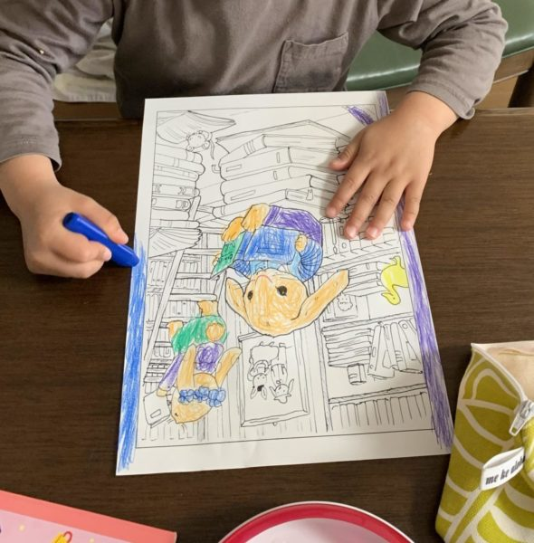 baby coloring page